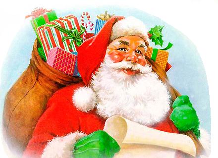 Санта!